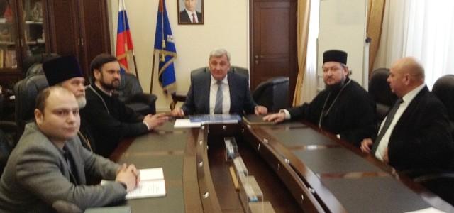 Идет подготовка к подписанию соглашения о сотрудничестве между Южно-Российским государственным политехническим университетом и Донской митрополией