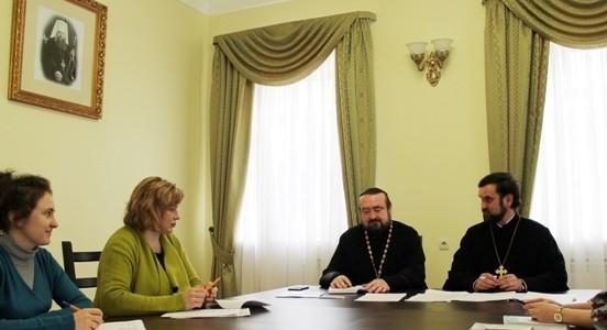 В Зале епархиальных собраний Ростовского кафедрального собора состоялось коллегия отделов религиозного образования и катехизации Донской митрополии
